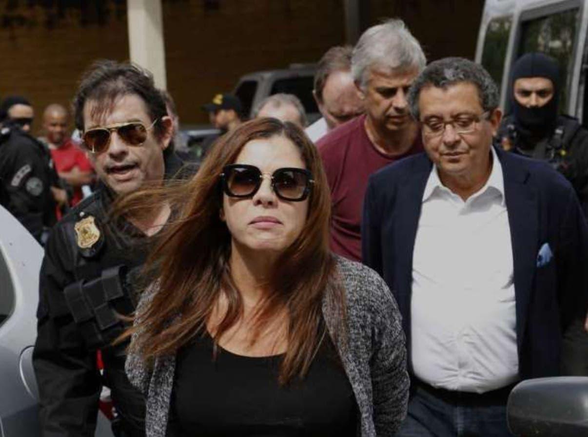 Mónica Moura, esposa del publicista Joao Santana.