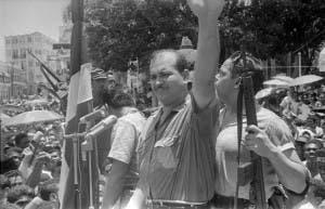 El coronel Francisco Alberto Caamaño Deñó, héroe de la Revolución de Abril de 1965.