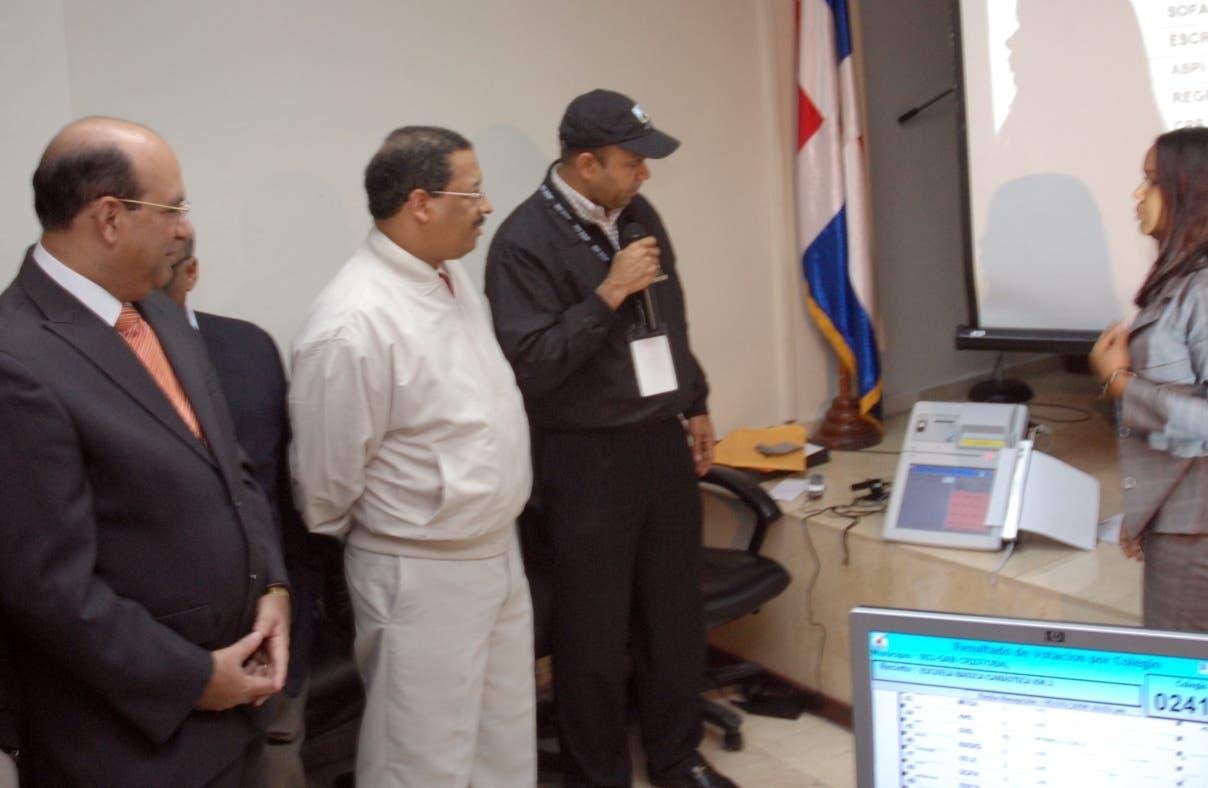 La JCE decide no utilizar los escáneres en las próximas elecciones