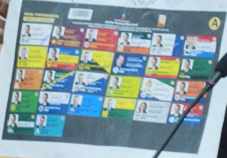 Partidos solicitan a JCE utilizar boleta física en proceso electoral de 2020