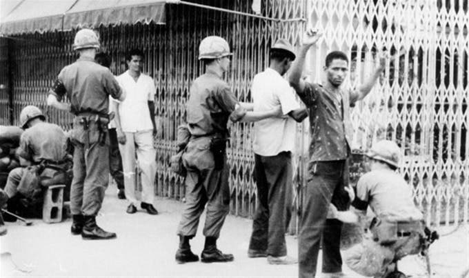 Resultado de imagen para ocupacion norteamericana 1965