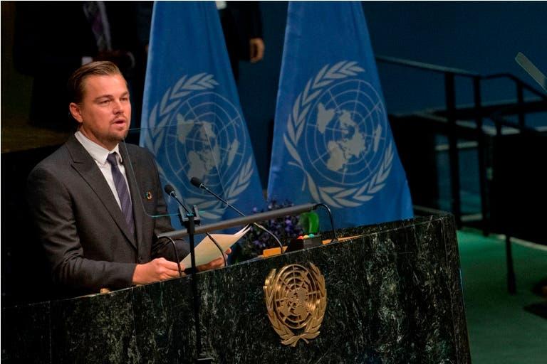 """DiCaprio: """"El planeta no se salvará si no dejamos los combustibles fósiles»"""