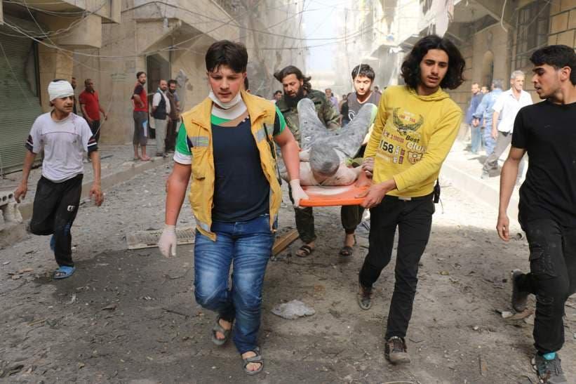 Al menos 25 muertos en nuevos bombardeos en la provincia siria de Alepo