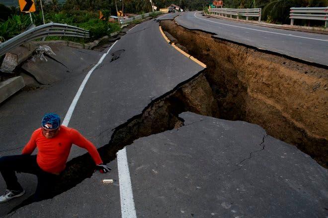 ECUADOR-SISMO terremoto