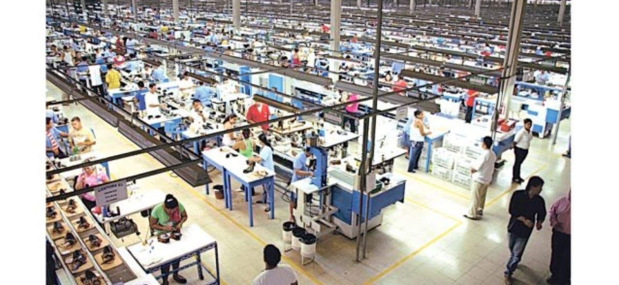 Exportaciones de zonas francas crecen 15.5%en primer trimestre del año