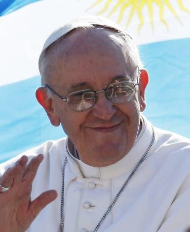 """El papa- """"Este viaje será breve, gracias a Dios"""" A bordo del avión papal"""