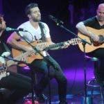 El cantante Pablo alborán durante su concierto en el país.