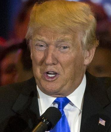 El candidato republicano a la presidencia, Donald Trump, habla en conferencia de prensa el martes, 3 de mayo de 2016, en Nueva York. (AP Photo/Mary Altaffer)