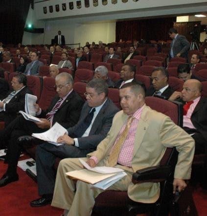 El país. Asamblea del congreso nacional. Hoy. Manelik Balcacer  2-06-09