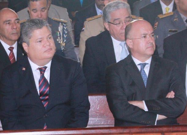 Aniversario de la Dirección Nacional de Control de Drogas, celebrada en la Catedral Primada de América, Foto: Elieser Tapia.