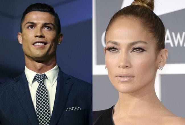 Cristiano Ronaldo y Jennifer López