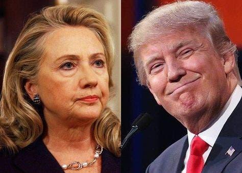 clinton votaciones Campaña Donald Trump y Hillary Clinton.