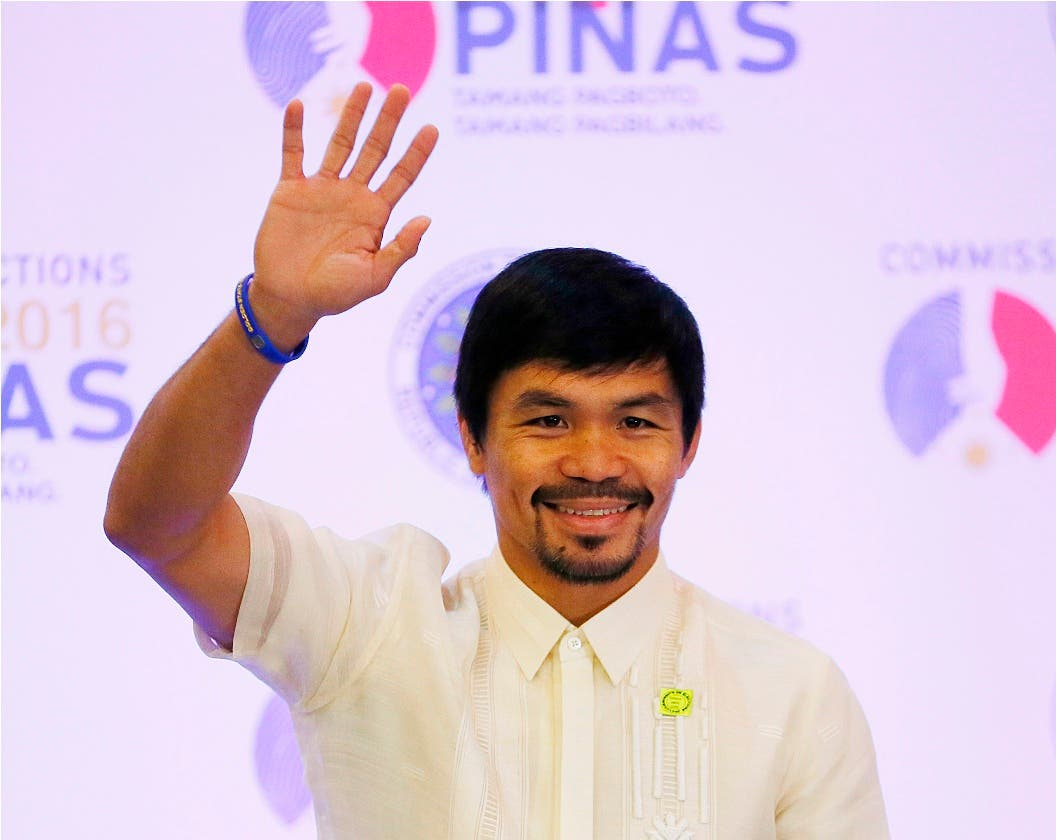 Philippines Elections Pacquiao