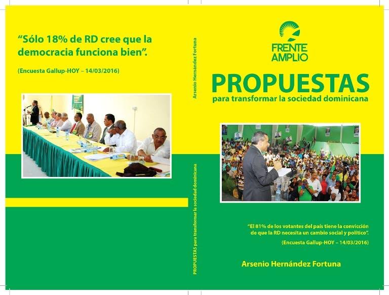Arsenio Hernández pone en circulación libro sobre propuestas para transformar sociedad