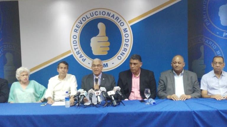 PRM afirma prueba de transmisión resultados de JCE fue un fracaso