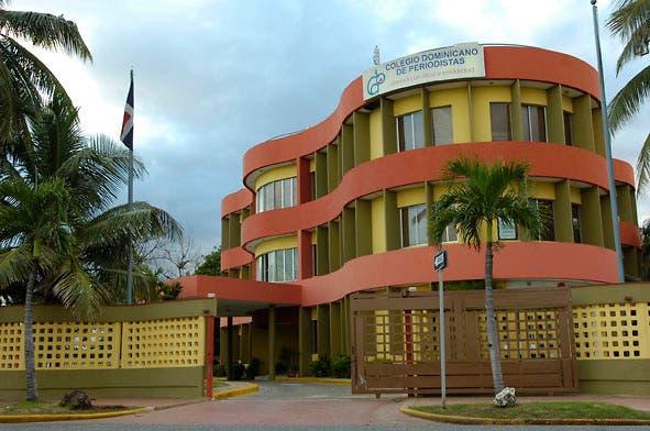 Vista del Colegio Dominicano de Periodistas (CDP) ubicado en Av. George Washington Esq. Dr. Horacio Vicioso, Centro de los Héroes, Santo Domingo, República Dominicana. 03/12/2008 Foto : © Roberto Guzmán