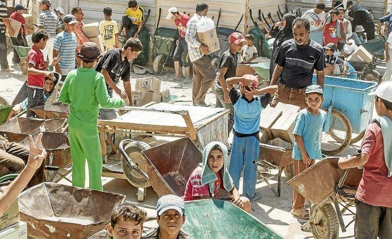 Generación  de jóvenes refugiados