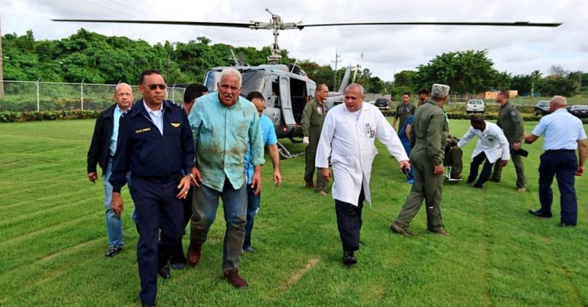 «El helicóptero cayó tan rápido que no dio tiempo ni para asustarse»