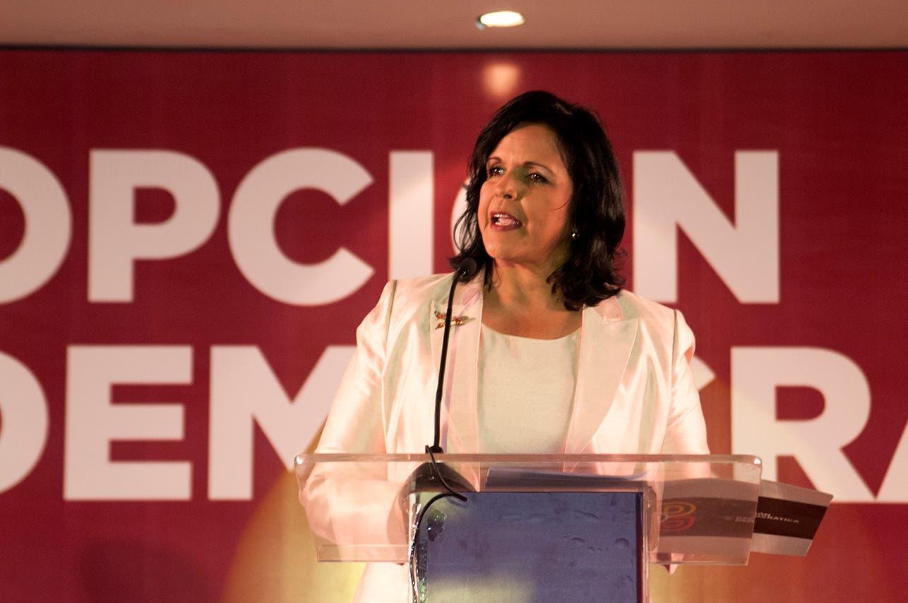Minou: «Roberto Rosario dio más elementos para deslegitimar elecciones»
