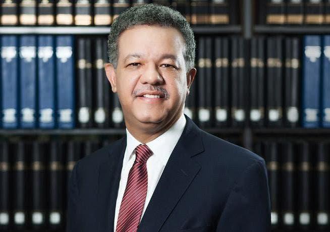 El expresidente Leonel Fernández.