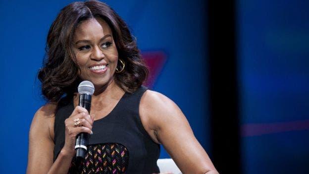 """Michelle Obama tuvo """"todo tipo de preocupaciones y miedos"""" antes de ir a la universidad."""
