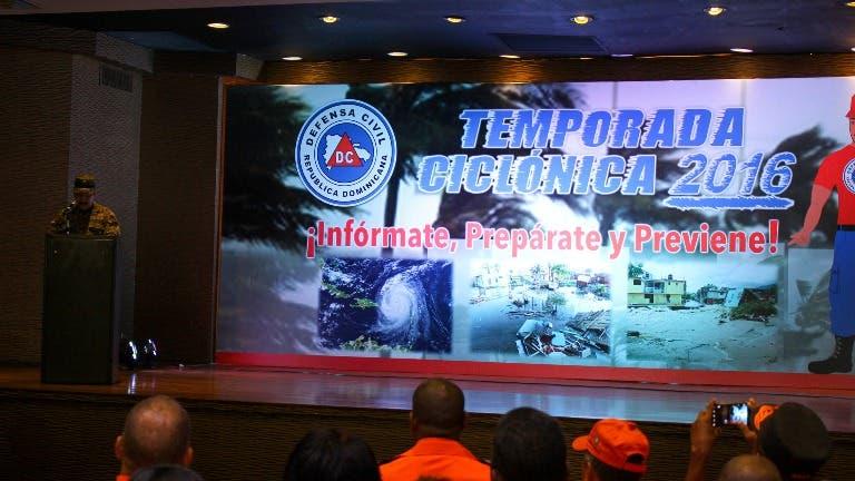 Defensa Civil lanza campaña educativa por temporada ciclónica