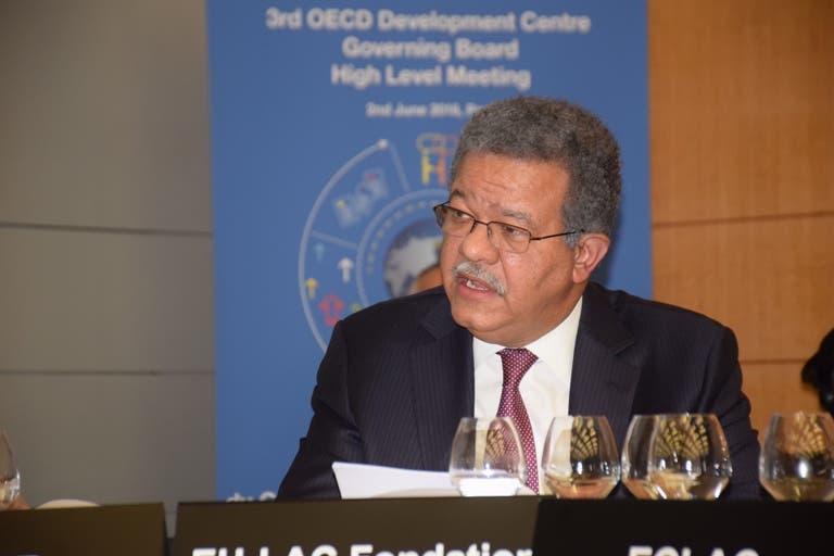 Leonel Fernández negó que  apoye a uno de los candidatos en el Colegio de Abogados.
