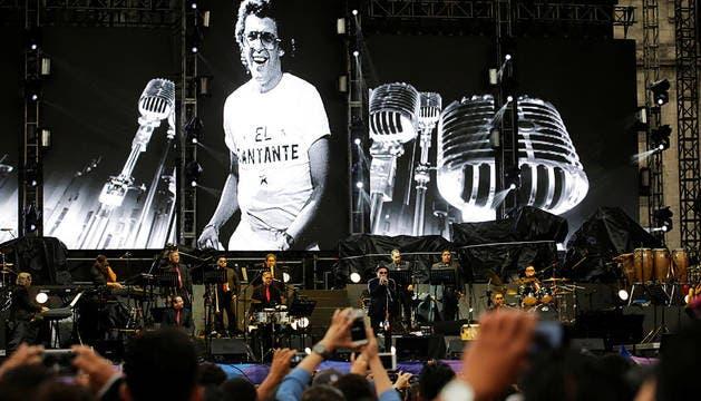 Rubén Blades, Carlos Vives y Marc Anthony encandilan a la multitud en México