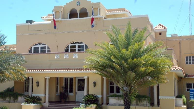 Fachada del Edificio que aloja la Cancillería/20-9-07/foto José de León