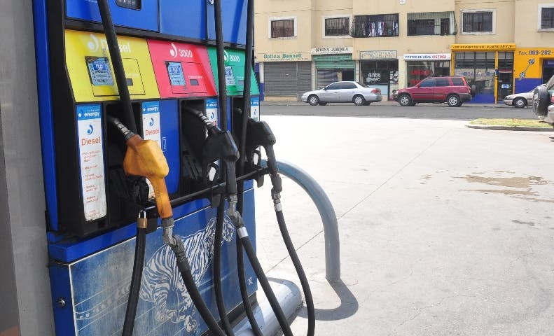 Combustibles registran leves alzas