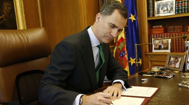 Rey de España interesado en salvar gobernabilidad