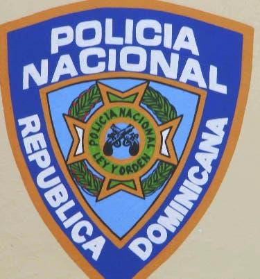Logo Policía Nacional. 5 de octubre de 2007 Foto/Pedro Sosa