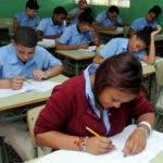 El proceso de las Pruebas Nacionales para los estudiantes de 8vo grado del nivel básico, correspondientes a Ciencias Sociales se desarrolló este miércoles con normalidad, como en los dos días anteriores. Fuente externa 18/06/2014