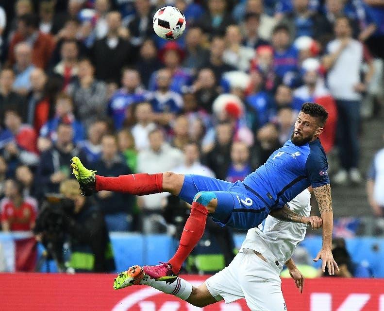 Francia   da 'lección' a  Islandia en Eurocopa