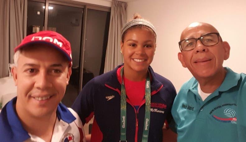 Nadadora Dorian McMenemy, primera que llegó a villa Juegos Río