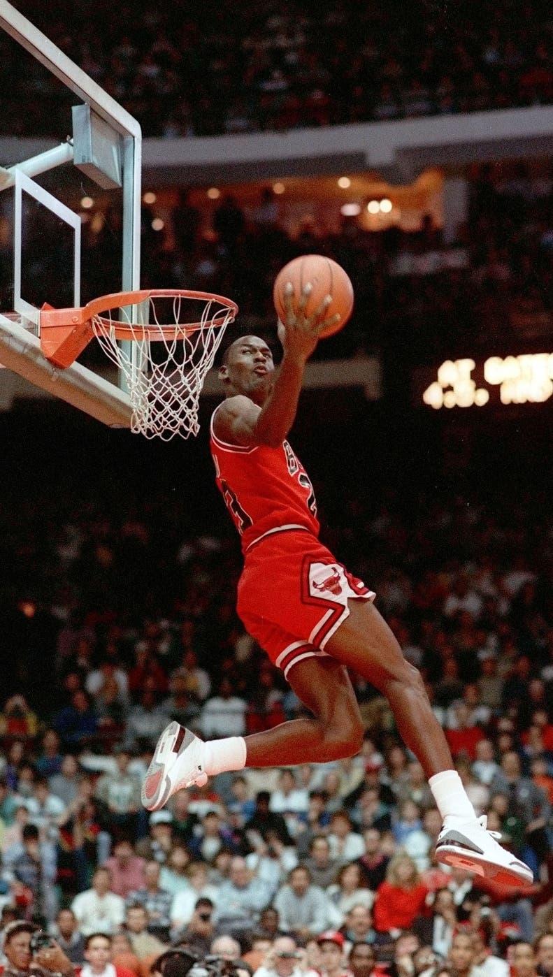 michael jordan - all-star weekend - feb. 6 1998