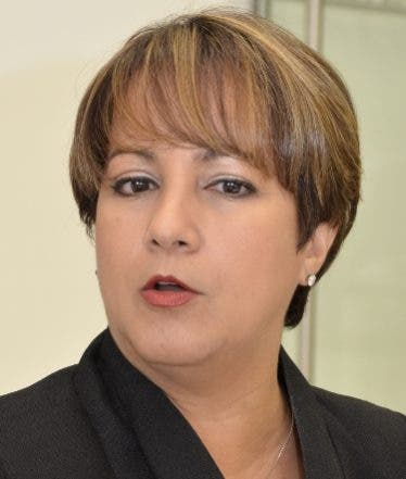 Encuentro Econòmico con Kirsis Jàquez Presidenta Ejecutiva de la asociaciòn Dominicana de Administradoras de Fondo de Pensiones. Hoy/ Napoleòn Marte 29/01/2014