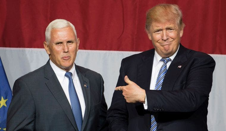 Donald Trump elige a Mike Pence como su compañero de fórmula