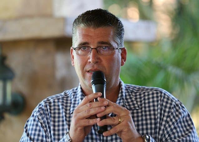 Eric Rivero, presidente de Aproleche.