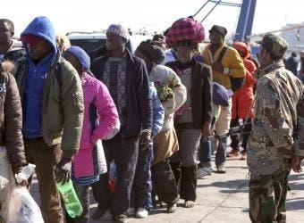 Haitianos apresados en Suramérica