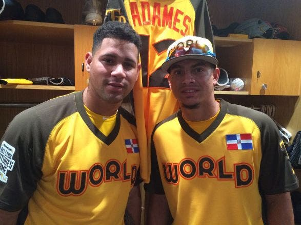 Gary Sánchez y Willy Adames