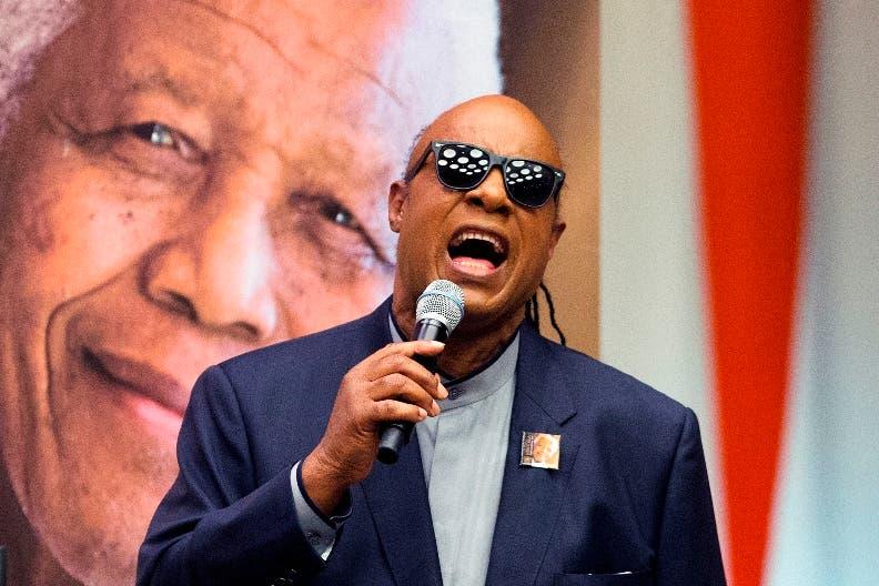 La ONU recuerda el legado de Nelson Mandela de la mano de Stevie Wonder