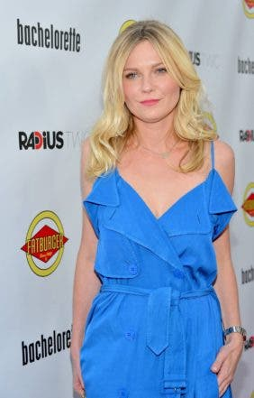 "HOLLYWOOD, CA - AUGUST 23:  Actress Kirsten Dunst arrives at the premiere of RADiUS-TWC's ""Bachelorette"" at ArcLight Cinemas on August 23, 2012 in Hollywood, California.  (Photo by Alberto E. Rodriguez/Getty Images)"