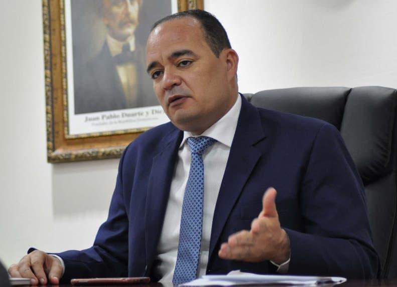 Miguel Surún presidente del Colegio de Abogados.