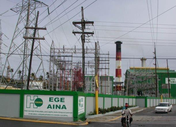 Planta generadora de electricidad, EGE-HAINA, ubicada en la ciudad de Puerto Plata. El Nacional/Felipe Alvarado Archivo/Reynaldo Brito 3/12/202 Imagen Digital