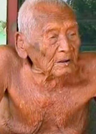 Anciano asegura tener 145 años de edad