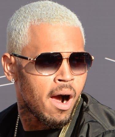 El cantante Chris Brown