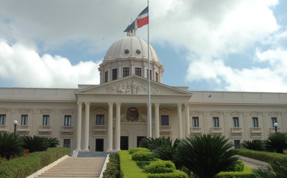 Fachada del Palacio Nacional de la Republica Dominicana. El Nacional/ FE. Archivo. 13.06.2009