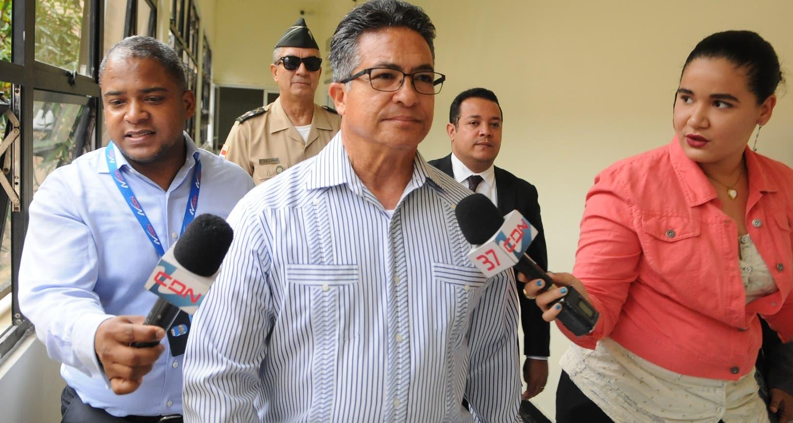 El mayor general retirado Pedro Rafael Peña Antonio será interrogado a partir de las 10 de la mañana. Foto de archivo.