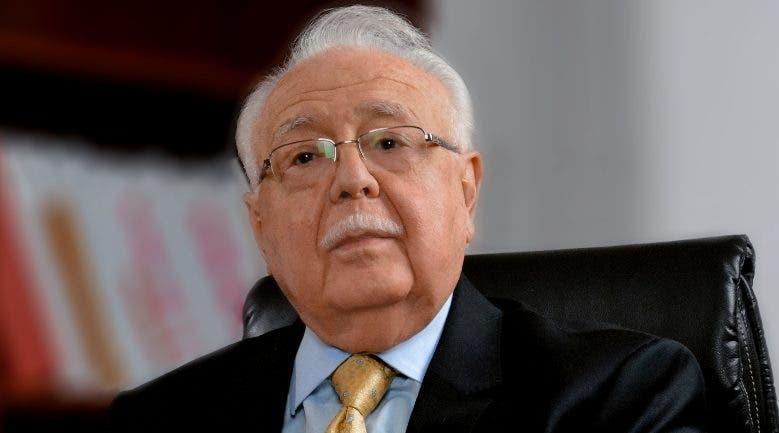 Antonio Isa Conde, ministro de Energía y Minas,